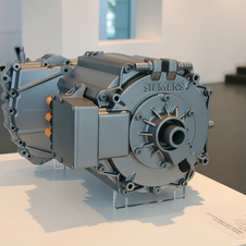 The new Siemens motors are more powerful and slightly more efficient