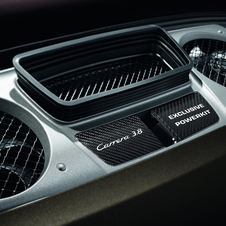 The Powerkit adds 30hp to the Carrera S to increase the top speed and acceleration