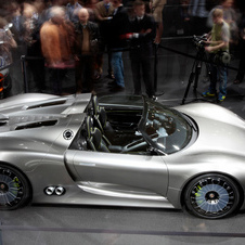 It will be the UK public debut for the Porsche 918