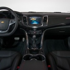 Chevrolet's MyLink infotainment system is also standard