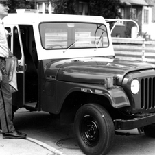 Jeep CJ-5 Dispatch