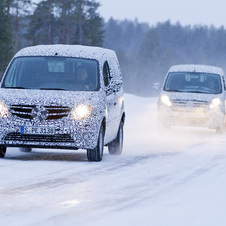 Mercedes Citan Urban Van Begins Winter Testing