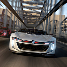 The GTI Roadster Vision Gran Turismo is powered by a virtually designed 3.0 liter V6 twin-turbo engine with 503hp and 560Nm of torque