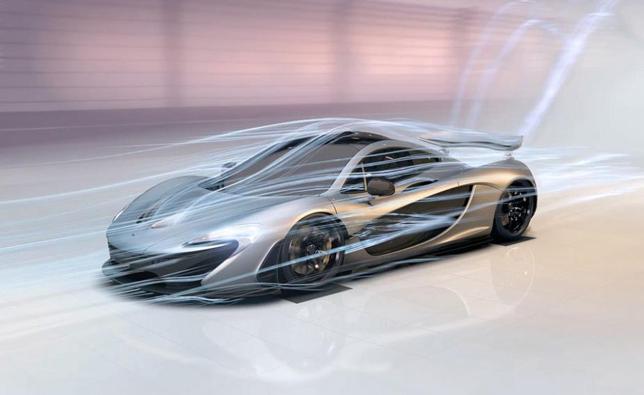 mclaren zeigt aerodynamik des p1 in animiertem video :: nachrichten
