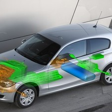 BMW has created a prototype, fuel cell 1-series for testing.