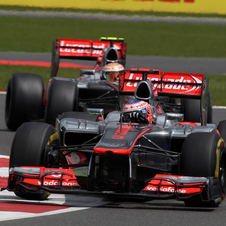 Neither car performed well, especially Button who had problems even in qualifying