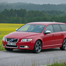 Volvo V70 D5 R-Design Geartronic