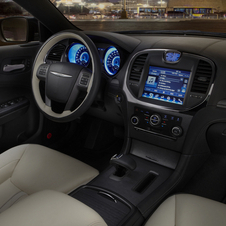 The Ruyi has dark chrome trim around the navigation system, door handles, air vents and instrument rings