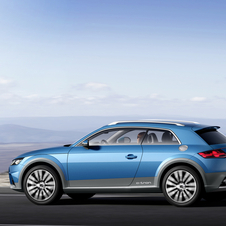 Audi says a vehicle like this is a production possibility