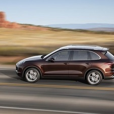 The diesel versions of the Cayenne combine sportiness with efficiency