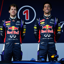 24-year old Australian driver Daniel Ricciardo joins Vettel to help Red Bull secure another title