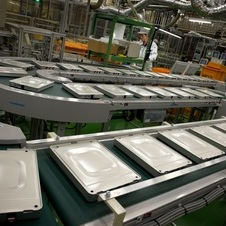 Nissan refines it production processes for batteries at the Zama plant