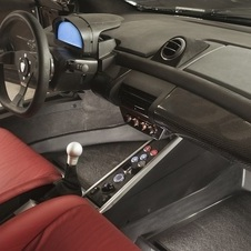 The interiors of Mastretta's cars are quite sparse