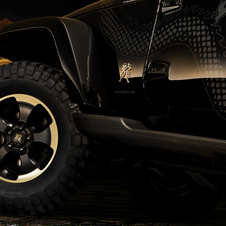 Jeep Brings More Information About Wrangler Dragon