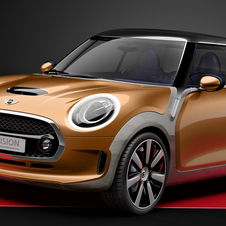 The Mini Vision Concept previews the look of the third generation Mini