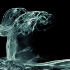 The first Wraith teaser was this smokey image of the Spirit of Ecstasy