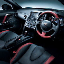 O interior do novo Nissan GT-R