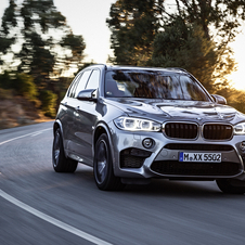 The new X5 M and X6 M get 20hp have more than previous versions, a total of 575hp, and more 70Nm of torque, 750Nm