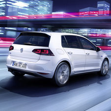 The Golf GTE provides the fifth variety of drive type for the Golf