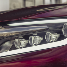 The only teaser that Citroën released shows its headlights.