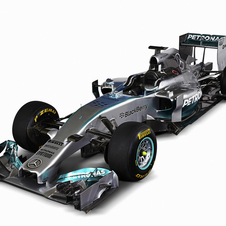 The new W05 marks 80 years of Silver Arrows