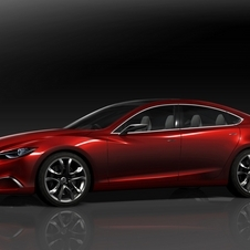 Mazda Takeri Concept Shows Off Future Mazda Mid-sized Sedan