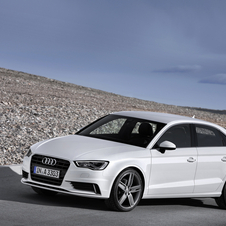 The A3 Sedan is based on the same platform as the S3 Sportback