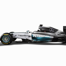 The F1 W05 has been designed to meet the challenge of the technical revolution in 2014