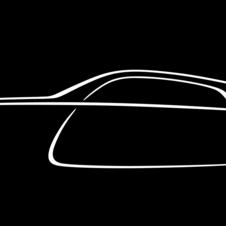 The latest drawing confirms the car's shape