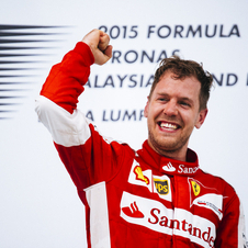 Vettel fullfilled his child dream of winning a race behind the wheel of a Ferrari