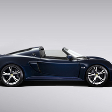 It first showed the Exige S Roadster at the 2012 Geneva Motor Show but has just begun taking orders for the car