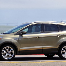 The Escape shares a platform with the Kuga in Europe