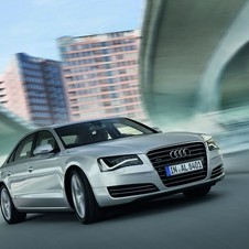 It will supply all of its cars to the IOC, but most of the cars will be the A8 L