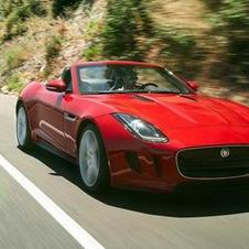 THe F-Type is quite attractive