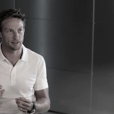 Jenson Button appears in a promotional video made for the car