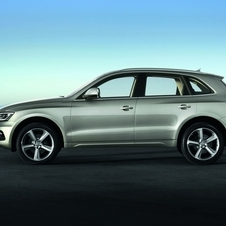 From the side, the new Q5 is basically identical