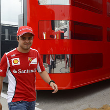 Massa's last podium was at the German Grand Prix in 2010