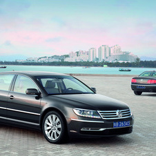 The next generation Phaeton is an advanced stage of development