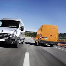 Renault Master Chassis Cabina Simples Propuls�o L4 3,5T 2.3 dCi 125cv Rod. Duplo