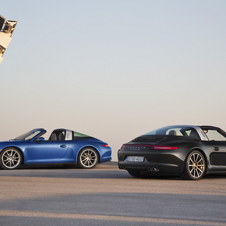 The 911 Targa will be offered as either the Targa 4 or Targa 4S