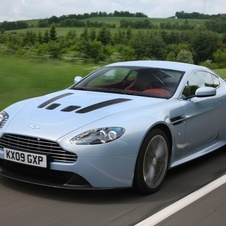 The platform will come from the V12 Vantage