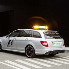 Mercedes Fields SLS AMG and C63 AMG Estate as F1 Safety Cars