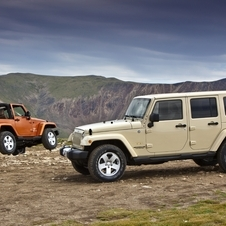 Jeep Wrangler Unlimited 2.8 CRD Sport Automatic