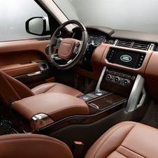 The Autobiography Black covers the entire interior in leather