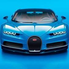 In terms of dimensions, the Chiron is almost identical to Veyron
