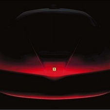 Ferrari released a higher-res teaser image