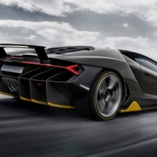 However, this version is still 20hp more powerful than the Aventador SV