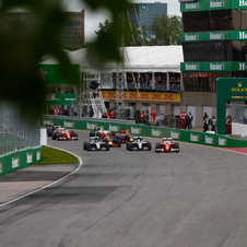 Vettel took the lead of the raceat the start but his team strategy failed him