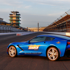It is the 12th time that a Corvette has been the pace car for the Indy 500