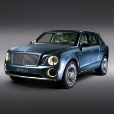 Bentley has not given the  EXP 9 F SUV a production name yet
